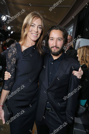 HOLLYWOOD, CA - DECEMBER 10: Director/Producer Kathryn Bigelow and Producer Greg Shapiro at Columbia Pictures 'Zero Dark Thirty' Premiere at Dolby Theatre on December 10, 2012 in Hollywood, California. Kathryn Bigelow Greg Shapiro