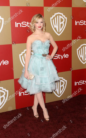 BEVERLY HILLS, CA - JANUARY 13: Dreama Walker at Warner Bros. /InStyle Golden Globes Party held at The Beverly Hilton Hotel on January 13, 2013 in Beverly Hills, California. Dreama Walker