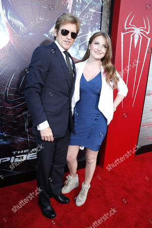 WESTWOOD, CA - JUNE 28: Denis Leary and Ann Lembeck at Columbia Pictures Premiere of 'The Amazing Spider-Man' at Regency Village Theatre on June 28, 2012 in Westwood, California.