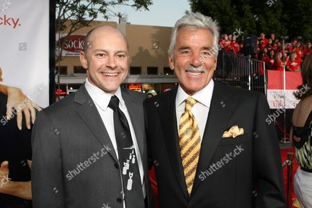 WESTWOOD, CA - MAY 1: Rob Corddry and Dennis Farina at Twentieth Century Fox World Premiere of 'What Happens in Vegas' on May 1, 2008 at the Mann Village Theatre in Westwood, CA.