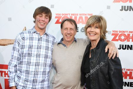 Stock Photo of HOLLYWOOD, CA - MAY 28: Kelly Dugan, Director Dennis Dugan and Sharon Dugan at the World Premiere of Columbia Pictures' 'You Don't Mess with the Zohan' on May 28, 2008 at Grauman's Chinese Theatre in Hollywood, CA.