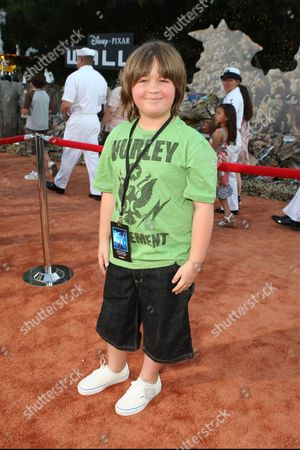 LOS ANGELES, CA - JUNE 21: Conner Rayburn at the World Premiere of Disney-Pixar's 'WALL-E' on June 21, 2008 at the Greek Theatre in Los Angeles, CA.
