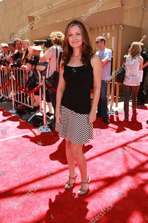 HOLLYWOOD, CA - AUGUST 10: Catherine Taber at US Premiere of Warner Bros. 'Star Wars: The Clone Wars' on August 10, 2008 at the Egyptian Theatre in Hollywod, CA.
