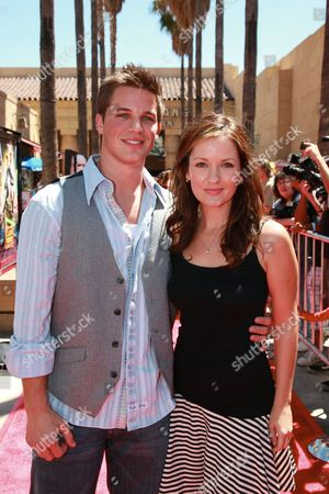 HOLLYWOOD, CA - AUGUST 10: Matt Lanter and Catherine Taber at US Premiere of Warner Bros. 'Star Wars: The Clone Wars' on August 10, 2008 at the Egyptian Theatre in Hollywod, CA.