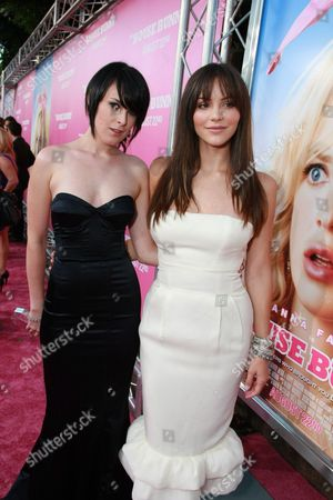 WESTWOOD, CA - AUGUST 20: Rumer Willis and Katherine McPhee at Columbia Pictures Premiere of 'The House Bunny' on August 20, 2008 at the Mann Village Theatre in Westwood, CA.