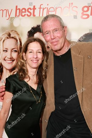 LOS ANGELES, CA - SEPTEMBER 15: Lionsgate's Allison Shearmur and Exec. Producer Michael Paseornek at Lionsgate's 'My Best Friend's Girl' World Premiere hosted by Jameson on September 15, 2008 at the Archlight Hollywood in Los Angeles, CA.