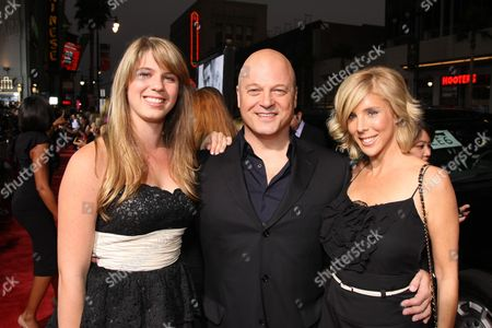 HOLLYWOOD, CA - SEPTEMBER 16: Autumn Chiklis, Michael Chiklis and Michelle Moran at the Los Angeles Premiere of Dreamworks' 'Eagle Eye' on September 16, 2008 at the Mann's Grauman Chinese Theatre in Hollywood, CA.