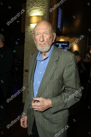 Stock Image of LOS ANGELES, CA - OCTOBER 06:**EXCLUSIVE** Irvin Kershner at the Los Angeles Screening of Lionsgate's 'W' on October 06, 2008 at the Landmark Theatres in Los Angeles, CA.