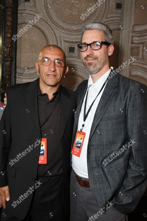 HOLLYWOOD, CA - OCTOBER 07: Co-Producer/Editor Paul Crowder and Director/Co-Writer Mark Monroe at The World Premiere of Walt Disney Pictures' 'Morning Light' on October 07, 2008 at the El Capitan Theatre in Hollywood, CA.