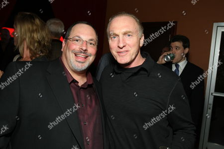 LOS ANGELES, CA - OCTOBER 21: Lionsgate's Peter Block and Mark Rolston at Lionsgate's Special Screening of 'Saw V' on October 21, 2008 at the Mann's Chinese Six in Los Angeles, CA.