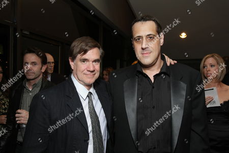BEVERLY HILLS, CA - NOVEMBER 13: **EXCLUSIVE** Director Gus Van Sant and Stuart Milk at Focus Features' Los Angeles Premiere of 'MILK' on November 13, 2008 at Academy of Motion Pictures Arts and Sciences in Beverly Hills, CA.