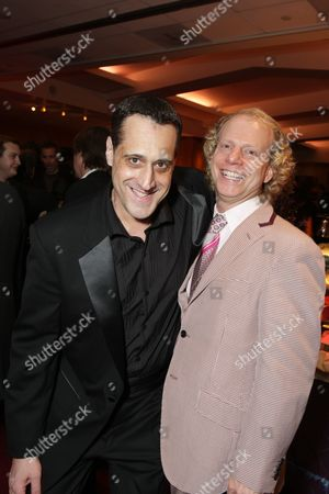 BEVERLY HILLS, CA - NOVEMBER 13: **EXCLUSIVE** Stuart Milk and Producer Bruce Cohen at Focus Features' Los Angeles Premiere of 'MILK' on November 13, 2008 at Academy of Motion Pictures Arts and Sciences in Beverly Hills, CA.