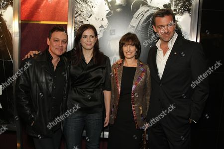 HOLLYWOOD, CA - DECEMBER 01: Doug Hutchison, Director Lexi Alexander, Producer Gaye Anne Hurd and Ray Stevenson at Lionsgate special screening of 'The Punisher' on December 01, 2008 at Mann's Chinese Theatre in Hollywood, California.