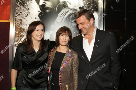 HOLLYWOOD, CA - DECEMBER 01: Director Lexi Alexander, Producer Gaye Anne Hurd and Ray Stevenson at Lionsgate special screening of 'The Punisher' on December 01, 2008 at Mann's Chinese Theatre in Hollywood, California.