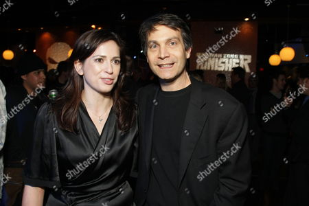 HOLLYWOOD, CA - DECEMBER 01: Director Lexi Alexander and Marvel's David Maisel at Lionsgate special screening of 'The Punisher' on December 01, 2008 at Mann's Chinese Theatre in Hollywood, California.