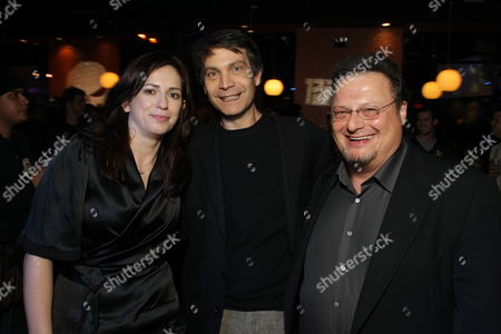 HOLLYWOOD, CA - DECEMBER 01: Director Lexi Alexander, Marvel's David Maisel and Wayne Knight at Lionsgate special screening of 'The Punisher' on December 01, 2008 at Mann's Chinese Theatre in Hollywood, California.