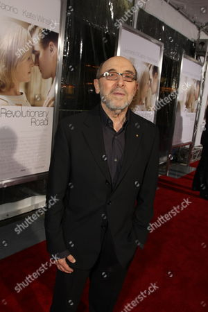 WESTWOOD, CA - DECEMBER 15: Costume Designer Albert Wolsky at the World Premiere of Dreamworks Pictures and Paramount Vantage 'Revolutionary Road' on December 15, 2008 at Mann's Village Theatre in Westwood, California.