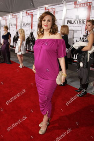 Stock Picture of LOS ANGELES, CA - DECEMBER 18: Holly Palmer at United Artists Pictures and MGM premiere of 'Valkyrie' on December 18, 2008 at the Directors Guild of America in Los Angeles, California.