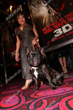 LOS ANGELES, CA - JANUARY 08: Selene Luna and Mighty Louis at the Los Angeles Special Screening of Lionsgate's 'My Bloody Valentine 3D' on January 08, 2008 at the Mann's Chinese Six in Los Angeles, California.