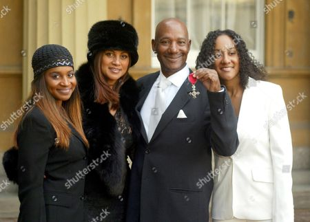 ERROL BROWN WITH HIS FAMILY