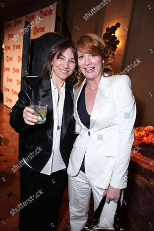 HOLLYWOOD, CA - JANUARY 14: Exec. Producer/Writer/Director Ilene Chaiken and Laurel Holloman at Showtime's 2009 Winter TCA Party on January 14, 2009 at the Roosevelt Hotel in Hollywood, California.