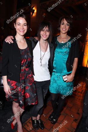 Stock Picture of HOLLYWOOD, CA - JANUARY 14: Leisha Haile, Katherine Moenning and Jennifer Beals at Showtime's 2009 Winter TCA Party on January 14, 2009 at the Roosevelt Hotel in Hollywood, California.