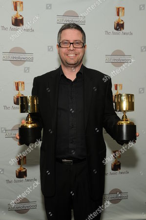 WESTWOOD, CA - JANUARY 30: John Powell at the 36th Annual Annie Awards on January 30, 2009 at UCLA in Westwood, California.