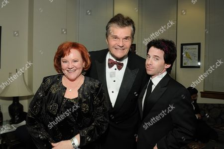 WESTWOOD, CA - JANUARY 30: Edie McClurg, Fred Willard and Seth Green at the 36th Annual Annie Awards on January 30, 2009 at UCLA in Westwood, California.