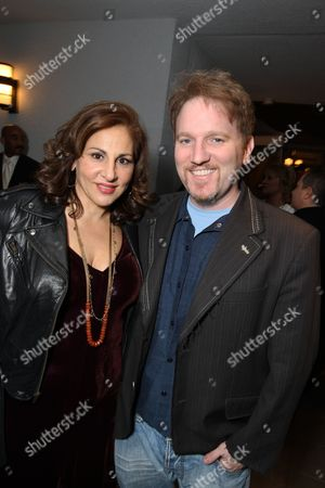 WEST HOLLYWOOD, CA - FEBRUARY 21: **EXCLUSIVE** Kathy Najimy and Dan Finnerty at Walt Disney Pictures/Miramax Pre-Oscar Party on February 20, 2009 at the London West Hollywood in West Hollywood, California.