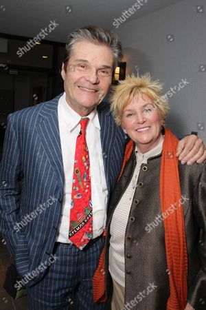 WEST HOLLYWOOD, CA - FEBRUARY 21: **EXCLUSIVE** Fred Willard and Mary Willard at Walt Disney Pictures/Miramax Pre-Oscar Party on February 20, 2009 at the London West Hollywood in West Hollywood, California.