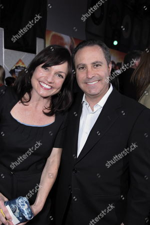 Stock Picture of HOLLYWOOD, CA - MARCH 11: Exec. Producer Ann Marie Sanderlin and Disney's Alan Bergman at The World Premiere of Walt Disney Pictures 'Race to Witch Mountain' on March 11, 2009 at the El Capitan Theatre in Hollywood, California.