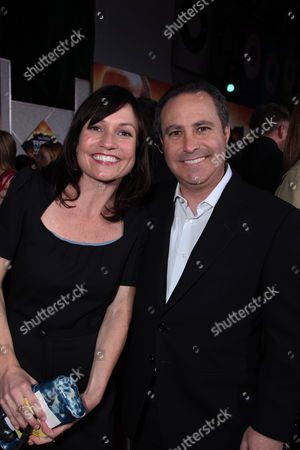 HOLLYWOOD, CA - MARCH 11: Exec. Producer Ann Marie Sanderlin and Disney's Alan Bergman at The World Premiere of Walt Disney Pictures 'Race to Witch Mountain' on March 11, 2009 at the El Capitan Theatre in Hollywood, California.
