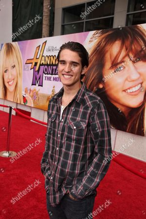 Editorial image of World Premiere of Walt Disney Pictures 'Hannah Montana The Movie' Hollywood Los Angeles, America.