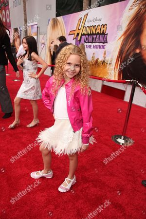HOLLYWOOD, CA - APRIL 02: Isabella Acres at the World Premiere of Walt Disney Pictures 'Hannah Montana The Movie' on April 02, 2009 at the El Capitan Theatre in Hollywood, California.