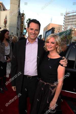 HOLLWOOD, CA - APRIL 27: Director Mark Waters and Dina Waters at New Line Cinema's 'Ghosts of Girlfriends Past' World Premiere on April 27, 2009 at the Grauman's Chinese Theatre in Hollywood, California.