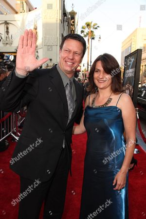 HOLLYWOOD, CA - APRIL 28: Director Gavin Hood and Janine Eser at Twentieth Century Fox Los Angeles Screening of 'X-Men Origins: Wolverine' on April 28, 2009 at Grauman's Chinese Theatre in Hollywood, California.