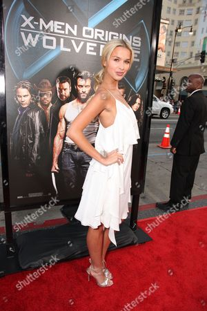 HOLLYWOOD, CA - APRIL 28: Tahyna Tozzi at Twentieth Century Fox Los Angeles Screening of 'X-Men Origins: Wolverine' on April 28, 2009 at Grauman's Chinese Theatre in Hollywood, California.