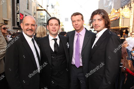 HOLLYWOOD, CA - MAY 14: Producer Jeffrey Silver, Producer Derek Anderson, Director McG and Producer Victor Kubicek at Warner Bros. Pictures U.S. Premiere of 'Terminator Salvation' on May 14, 2009 at Grauman's Chinese Theatre in Hollywood, California.