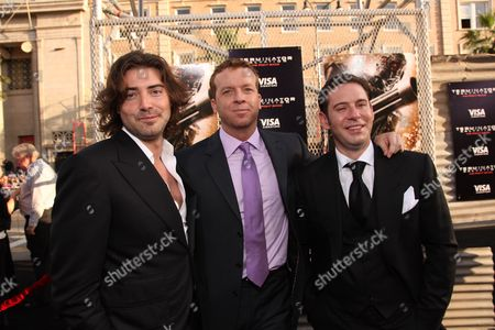 HOLLYWOOD, CA - MAY 14: Producer Victor Kubicek, Director McG and Producer Derek Anderson at Warner Bros. Pictures U.S. Premiere of 'Terminator Salvation' on May 14, 2009 at Grauman's Chinese Theatre in Hollywood, California.
