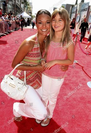 HOLLYWOOD, CA - JULY 19: Eva La Rue and daughter Kaya McKenna Callahan at The World Premiere of Walt Disney Pictures' 'G-Force' on July 19, 2009 at the El Capitan Theatre in Hollywood, California.