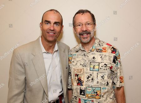 SAN DIEGO, CA - JULY 24: Disney's Mark Zoradi and Disney/Pixar's Ed Catmull at the Disney Animation Panel at Comicon on July 24, 2009 at the San Diego Convention Center in San Diego, California.