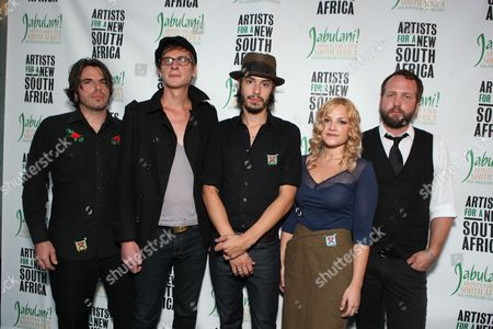 LOS ANGELES, CA - SEPTEMBER 22: Cory Chisel at Artist for a new South Africa Jabulani Celebration on September 22, 2009 at Wiltern Theatre in Los Angeles, California.
