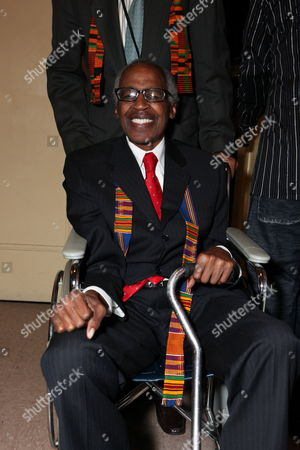 LOS ANGELES, CA - SEPTEMBER 22: **EXCLUSIVE** Robert Guillaume at Artist for a new South Africa Jabulani Celebration on September 22, 2009 at Wiltern Theatre in Los Angeles, California.