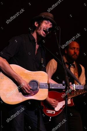 LOS ANGELES, CA - SEPTEMBER 22: **EXCLUSIVE** Cory Chisel at Artist for a new South Africa Jabulani Celebration on September 22, 2009 at Wiltern Theatre in Los Angeles, California.