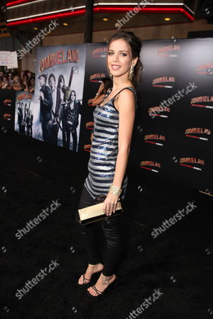 Editorial photo of Columbia Pictures 'Zombieland' Premiere Hollywood Los Angeles, America.