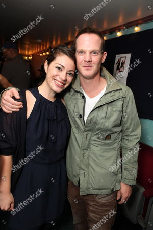 LOS ANGELES, CA - OCTOBER 08:**EXCLUSIVE** Jackie Singer and Jason Gray-Stanford at Jackie Singer's 'Does This Play Make Me Look Fat?' Play Opening on October 08, 2009 at The Complex in Los Angeles, California.