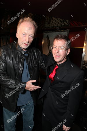 HOLLYWOOD, CA - OCTOBER 22: Tobin Bell and Director Kevin Greutert at Lionsgate's screening of 'Saw VI' on October 22, 2009 at The Mann's Chinese Six Theater in Hollywood, California.