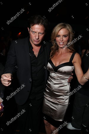 HOLLYWOOD, CA - OCTOBER 22: Costas Mandylor and Betsy Russell at Lionsgate's screening of 'Saw VI' on October 22, 2009 at The Mann's Chinese Six Theater in Hollywood, California.