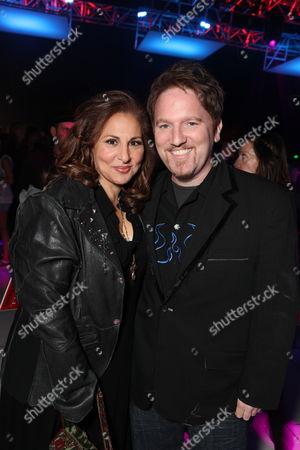 LOS ANGELES, CA - OCTOBER 27: Kathy Najimy and Dan Finnerty at Columbia Pictures' Premiere of Michael Jackson's 'This Is It' on October 27, 2009 at the Nokia Theatre L.A. Live in Los Angeles, California.