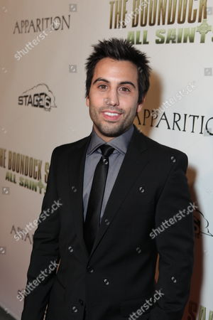 Stock Picture of HOLLYWOOD, CA - OCTOBER 28: Daniel DeSanto at the Los Angeles Premiere of 'The Boomdock Saints II: All Saints Day' on October 28, 2009 at the Arclight Theatre in Hollywood, California.